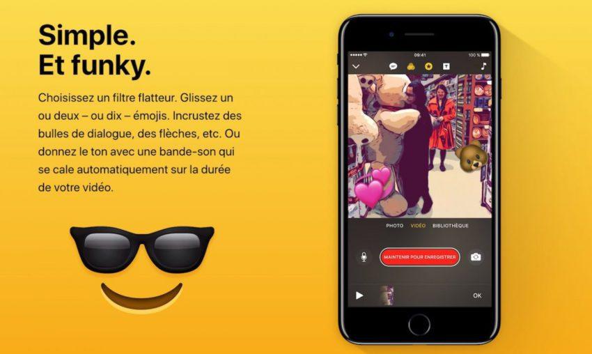 Clips Application iPhone Apple appsystem 850x508 L'application Clips d'Apple est à présent disponible