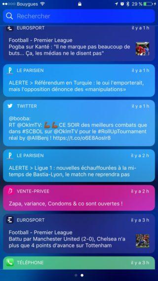 IMG 0790 320x569 Les meilleurs tweaks iOS 10 pour le Centre de notifications