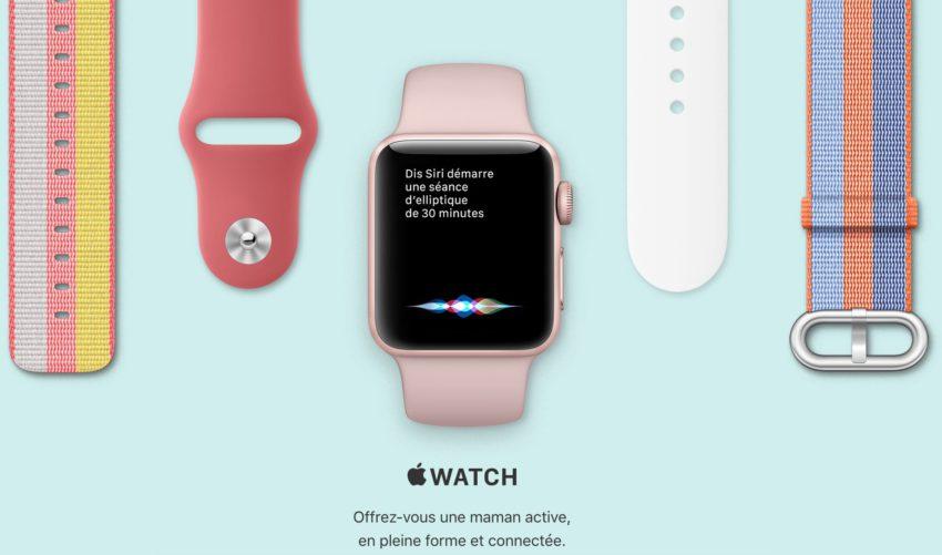 apple fete des meres watch Fête des mères: Apple met en ligne son guide d'achat