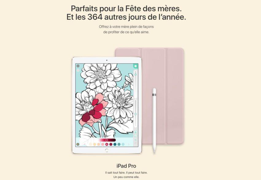 apple fete des meres Fête des mères: Apple met en ligne son guide d'achat