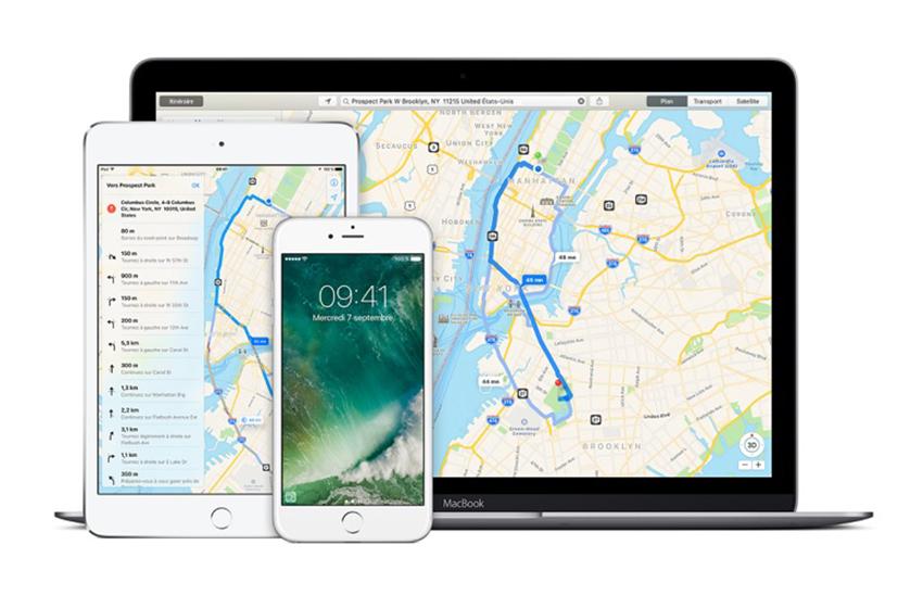 apple plans Apple Plans : les transports en commun à présent disponibles à Paris