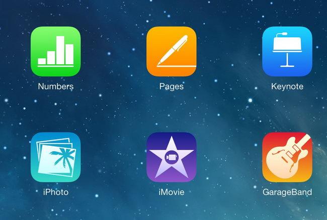 applications apple iMovie, GarageBand, Pages, Keynote et Numbers gratuites sur iOS et macOS !