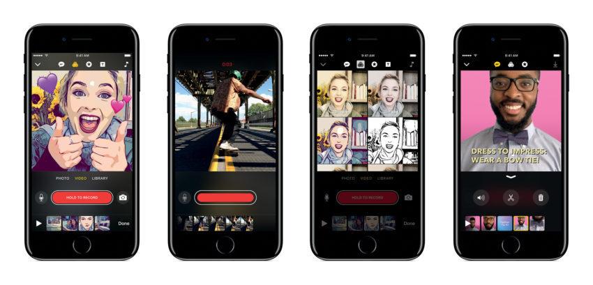 clips application 4 apple appsystem 850x409 L'application Clips d'Apple est à présent disponible
