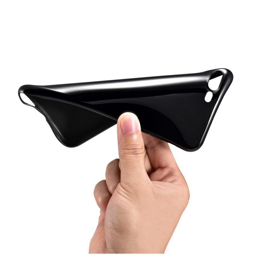 flex Coque iPhone 7 Noir de Jais avec protection décran (29.99€ au lieu de 39.99€)