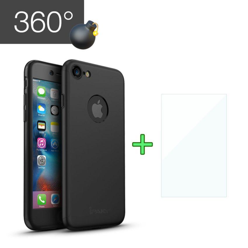 iPAKY i7 1 Protection décran iPhone 6 & 7 en verre trempé (livraison gratuite)