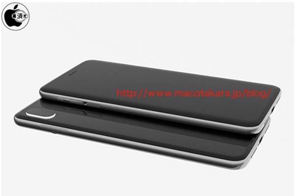 iphone 8 rendu 3D iPhone 8 : un design similaire à liPhone 4/4s et un APN vertical se confirment