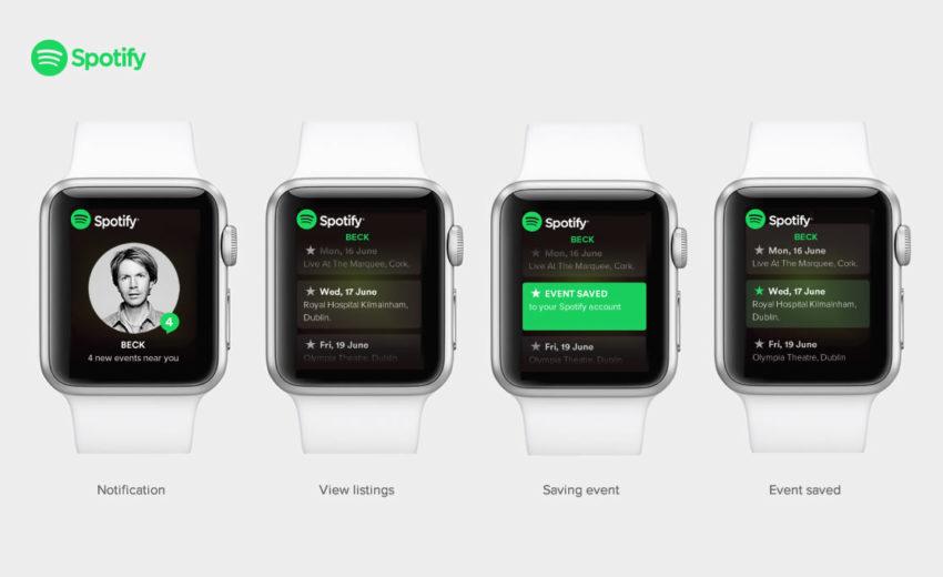 spotify apple watch Spotify : bientôt une application pour Apple Watch