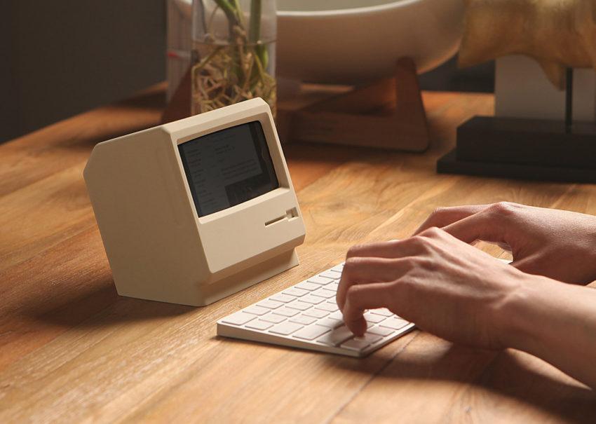 station iphone macintosh Une station de recharge qui donne lapparence dun Macintosh à votre iPhone