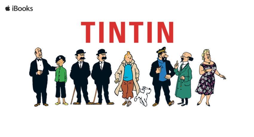Les aventures de Tintin maintenant disponibles sur iBooks