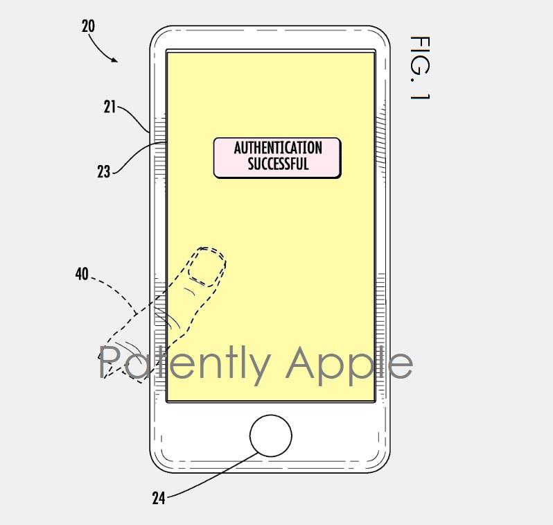 brevet touch id ecran iPhone 8 : Apple brevette un écran bord à bord avec lecteur dempreintes intégré