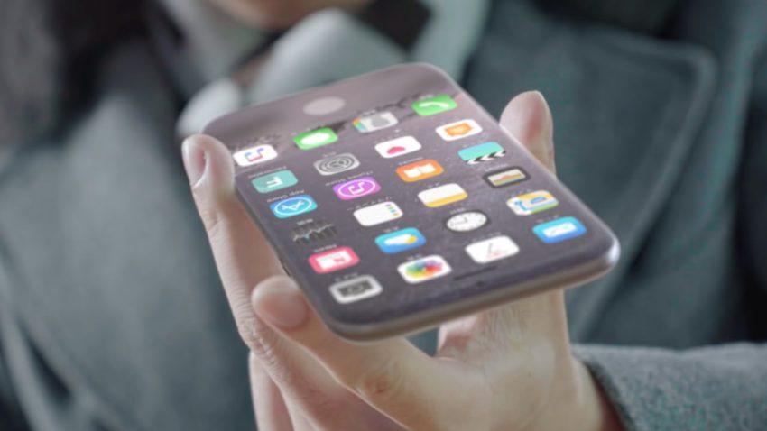 concept iphone 8 1 Un concept diPhone 8 avec écran sans bordures, recharge à distance et plus