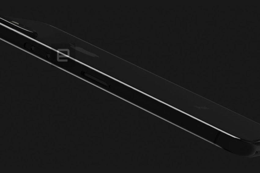 iPhone 8 : Engaget dévoile un nouveau rendu 3D