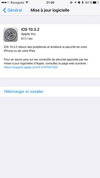 img 1039 320x569 iOS 10.3.2 disponible pour iPhone, iPad et iPod touch