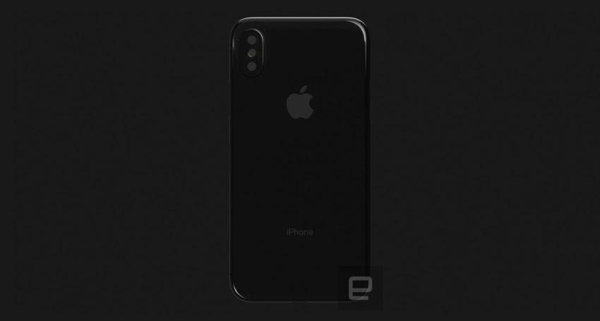 iphone 8 render 6 1 iPhone 8 : Engaget dévoile un nouveau rendu 3D