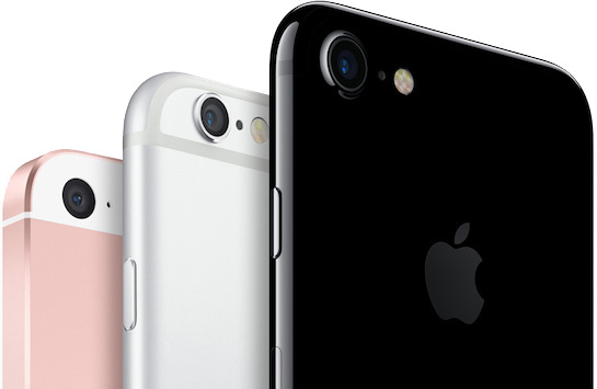 iphone trio iPhone : un taux de fidélité de 92% chez les utilisateurs
