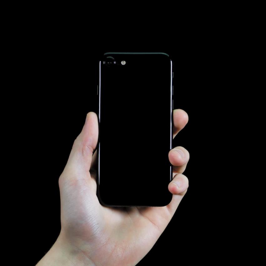 jetblack 1 Coque ORIGINAL ultra fine Jet Black pour iPhone 7