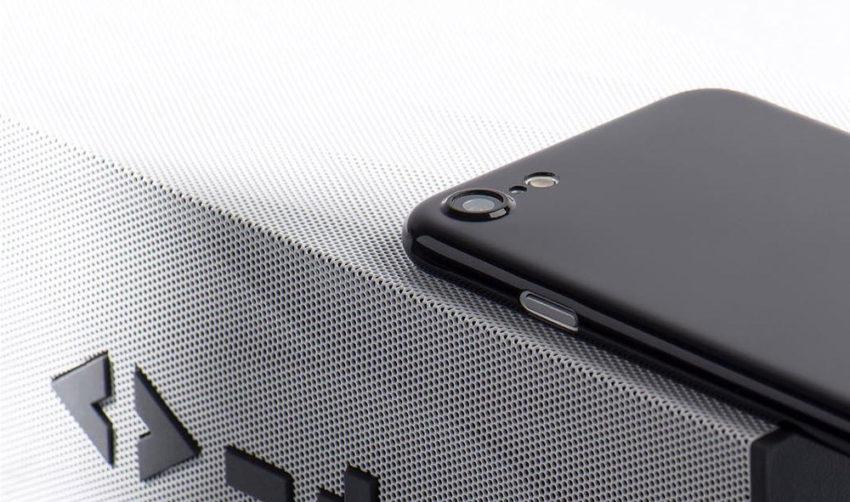 jetblack cover Coque ORIGINAL ultra fine Jet Black pour iPhone 7