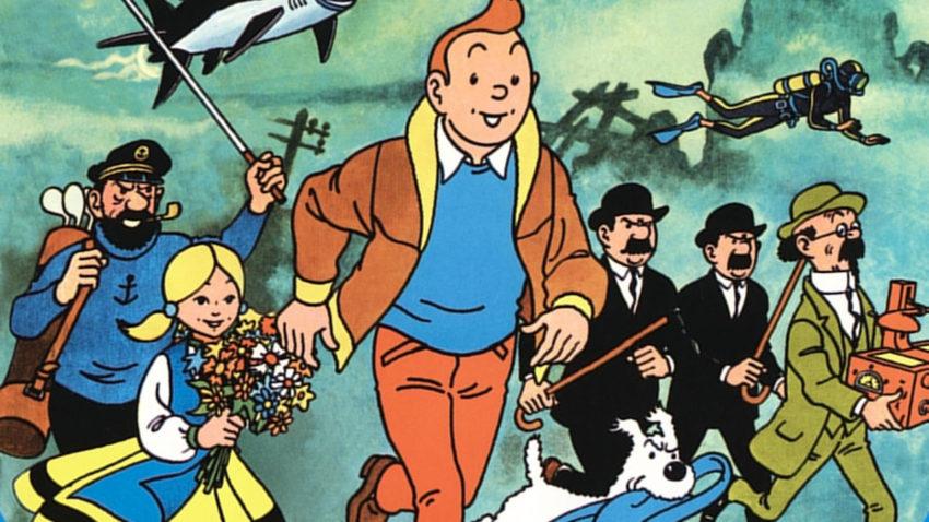 tintin et le lac aux requins 488642 Les aventures de Tintin maintenant disponibles sur iBooks