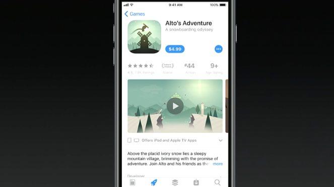 1496687215183496 1 WWDC 2017 : un nouvel App Store totalement revu a été présenté