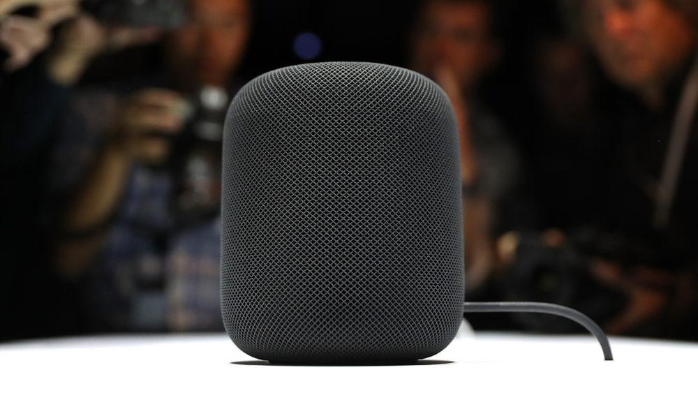 Apple HomePod Le HomePod sera officiellement disponible en France au printemps