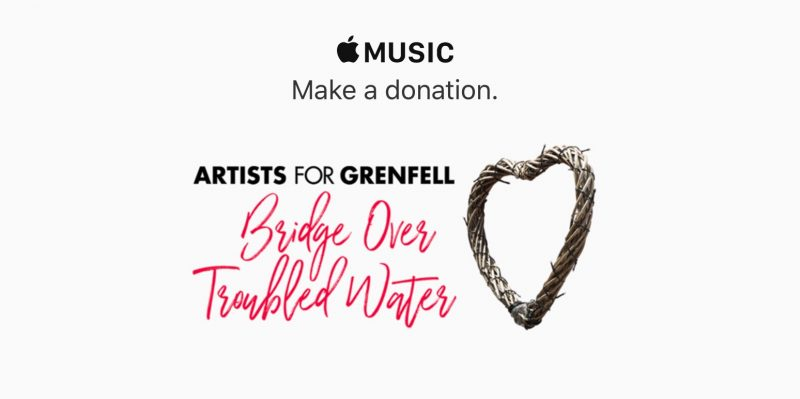 Apple Music Don Londres Incendie de la tour Grenfell à Londres : Apple lance un appel aux dons pour soutenir les victimes