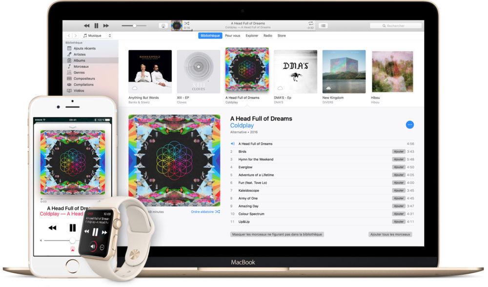 Apple Music Apple Music compte désormais 36 millions d'abonnés payants dans le monde