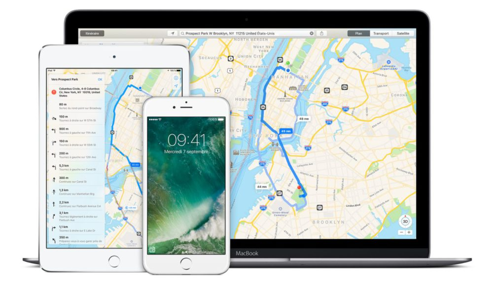 Apple Plans Plans sur iOS 11 : Apple a commencé à cartographier les aéroports et centres commerciaux