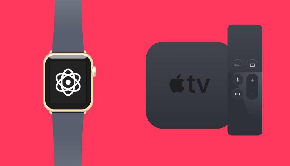 Apple Watch Apple TV watchOS 4 Golden Master et tvOS 11 Golden Master disponibles au téléchargement