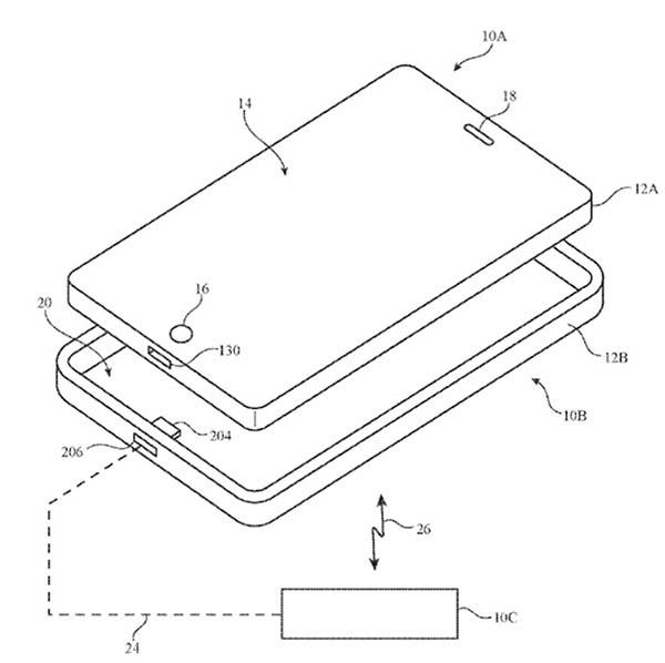 Brevet Recharge Sans Fil iPhone 8 / iPhone 7s : un brevet confirme un peu plus la recharge sans fil