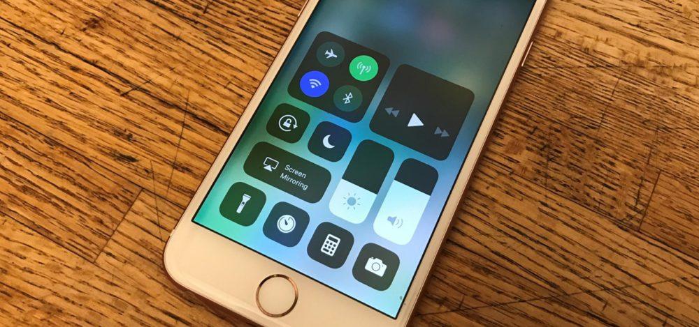 Control Centre iOS 11 Et si le Centre de Contrôle diOS 11 souvrait aux apps tierces ?