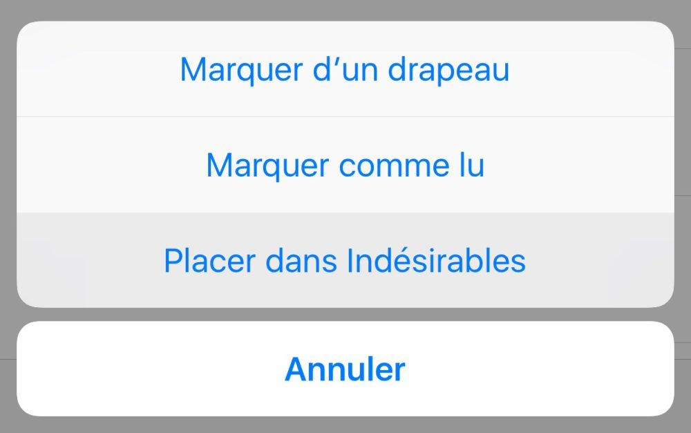 Comment Bloquer Mail Indesirable Sur Iphone