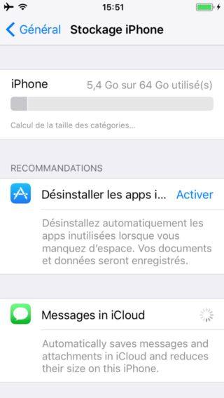 IMG 0004 320x568 Comment libérer de lespace mémoire sur iPhone avec liOS 11