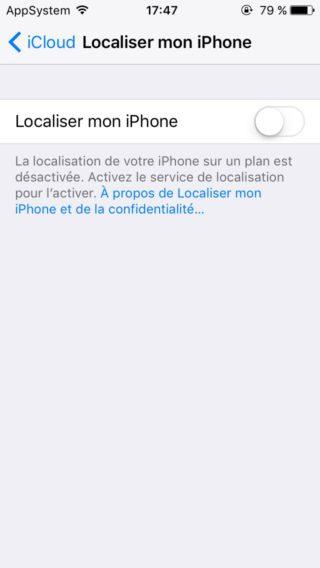 IMG 0053 320x568 Tutoriel : downgrade iOS 11 bêta vers iOS 10.3.2 / iOS 10.3.3