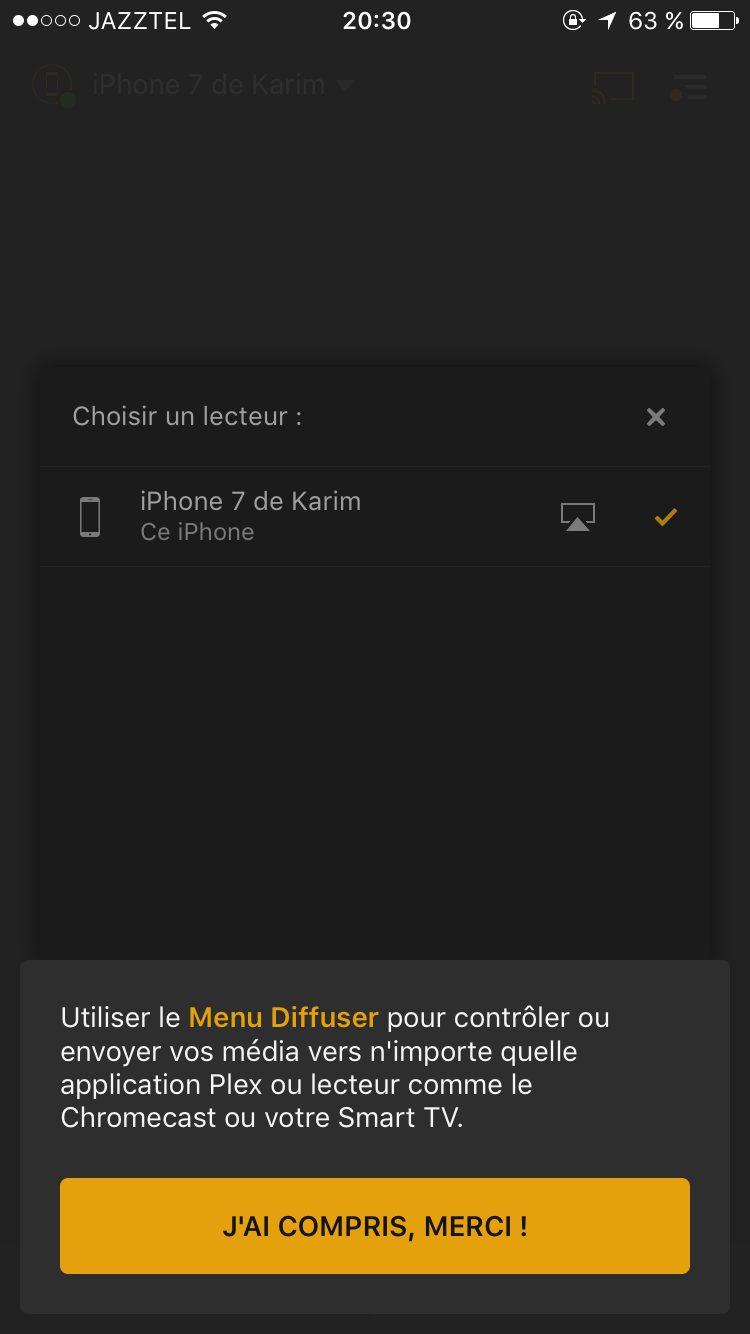 IMG 0258 Plex Live TV et gestion DVR ajoutés à la dernière mise à jour pour iOS