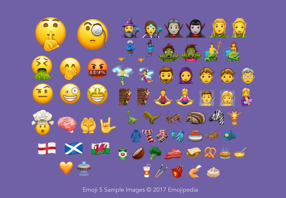 Voici les 56 nouveaux Emojis qui seront bientôt disponibles sur iOS