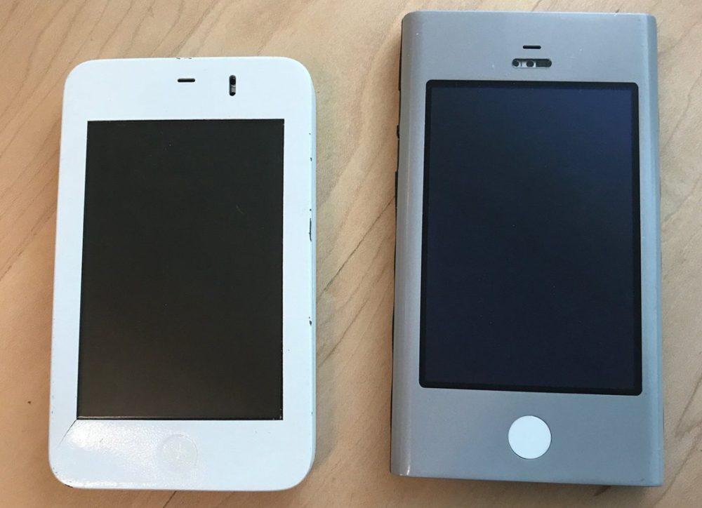 Prototypes iPhone Voici 2 photos de prototypes des tous premiers iPhone