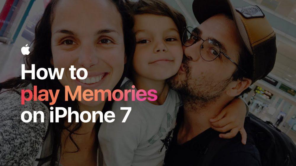 Souvenirs iOS Apple publie 2 vidéos pour expliquer comment utiliser les Souvenirs dans lapp Photos