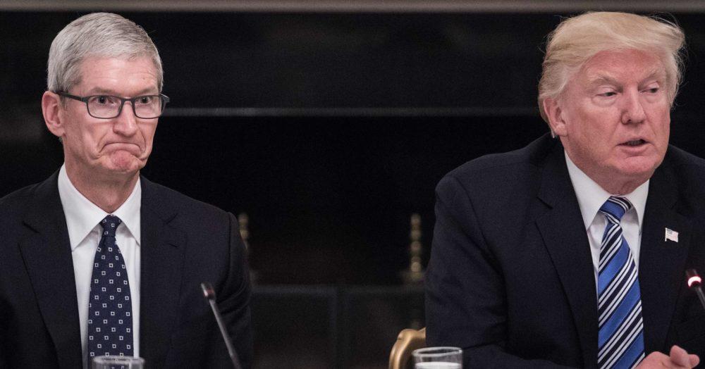 Ce que Tim Cook a dit à Donald Trump lors de la réunion de lAmerican Technology Council