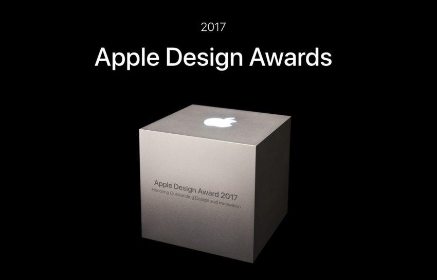 apple design awards 2017 Apple Design Awards 2017 : les grands gagnants nommés et récompensés