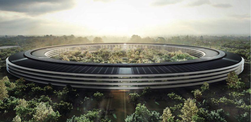 apple park Découvrez lintérieur de lApple Park dans une vidéo de survol en drone