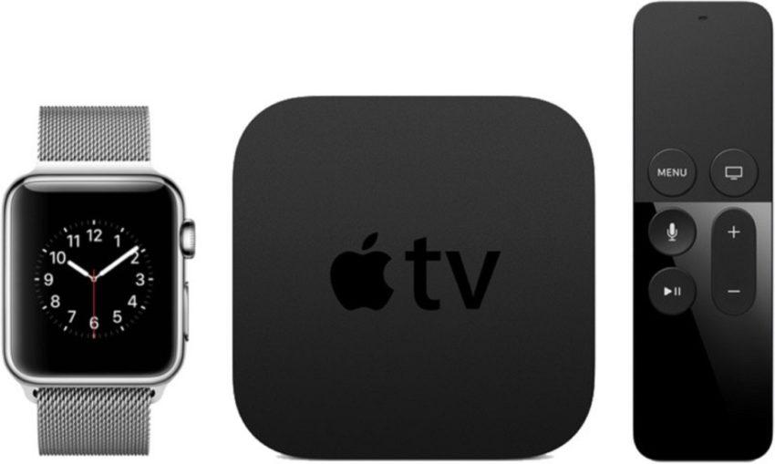 apple watch apple tv Nouveautés de watchOS 4 et tvOS 11, bêta 1 disponibles