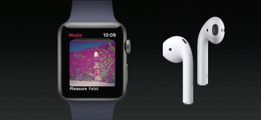 apple watch musique Bilan Keynote WWDC 2017 (iOS 11, HomePod, iMac Pro, iPad Pro, macOS High Sierra...)