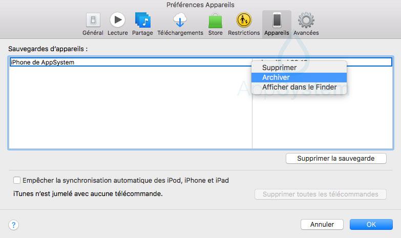 arvhive Tutoriel : downgrade iOS 11 bêta vers iOS 10.3.2 / iOS 10.3.3