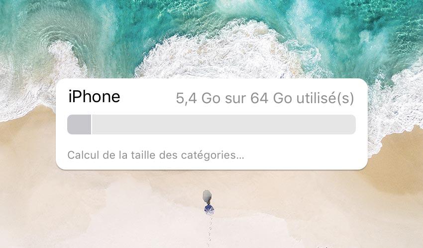 comment liberer espace stockage iphone Comment libérer de lespace mémoire sur iPhone avec liOS 11