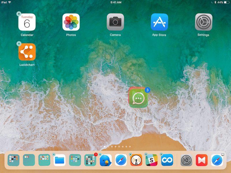 deplacement apps groupe ipad ios 11 Les nouveautés et fonctions cachées diOS 11 quApple na pas présentées