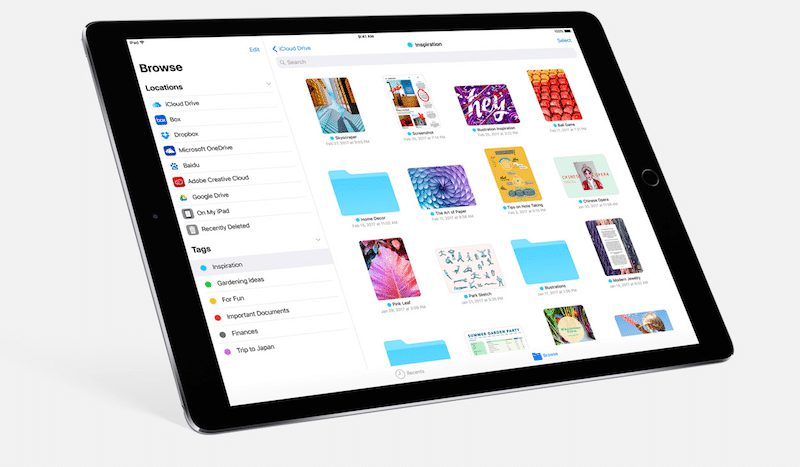 files ios 11 Une app Files similaire à celle dApple existait déjà sur lApp Store !