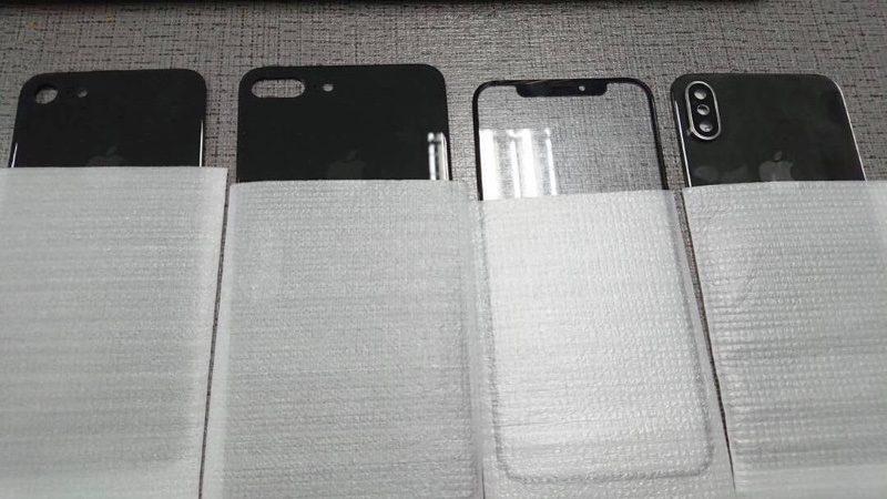 iPhone 8 7s Pieces Detachees Des pièces détachées de liPhone 8 et 7s (face avant/arrière et caméra) se dévoilent
