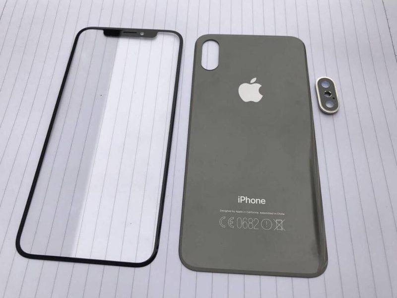iPhone 8 Pieces detachees Des pièces détachées de liPhone 8 et 7s (face avant/arrière et caméra) se dévoilent