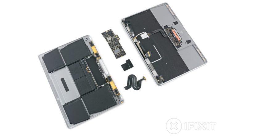 ifixit macbook pro 2017 MacBook Pro 2017 20% plus puissants, peu de changements sur les nouveaux Mac selon iFixit