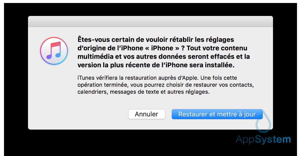 ios 11 downgrade 3 Tutoriel : downgrade iOS 11 bêta vers iOS 10.3.2 / iOS 10.3.3